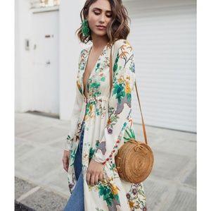 Zara Dresses - NWT Zara floral kimono